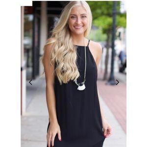 Show Me Your Mumu Traveler Dress- Black